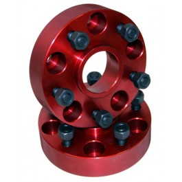 Wheel Adapters,1.25-Inch, 84-06 Jeep Cherokee and Wrangler