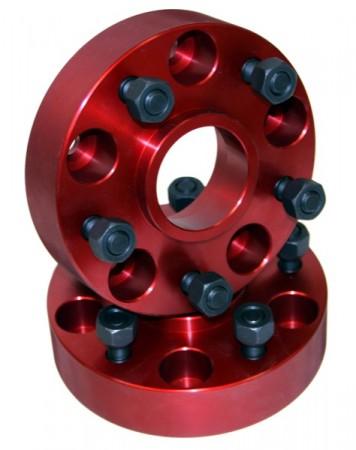 Wheel Adapters, 5x4.5 to 5x5.5; 84-06 Jeep Cherokee/Wrangler XJ/YJ/TJ