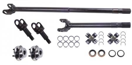 Axle Shaft Kit, Grande 30, Front; 92-06 Jeep Cherokee XJ/Wrangler TJ