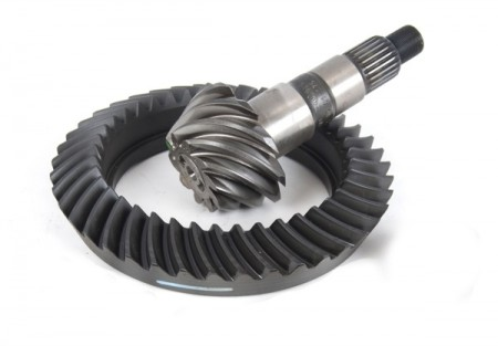 Ring and Pinion, 4.10 Ratio, for Dana 44 Front; 07-17 Jeep Wrangler