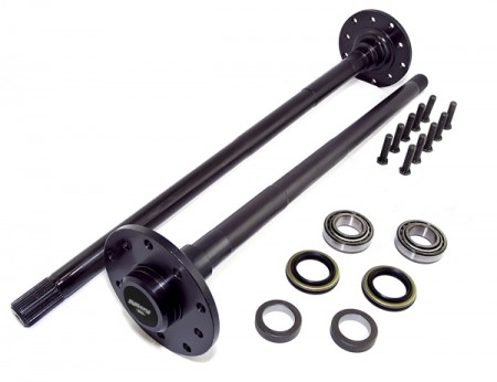 Axle Shaft Kit, Rear, For D44; 97-06 Jeep Wrangler TJ