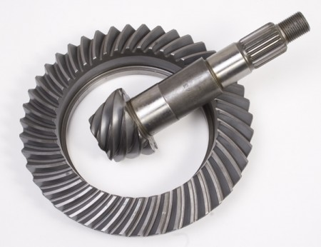 Ring and Pinion, 5.38 Ratio, for Dana 44, Front; 07-18 Jeep Wrangler