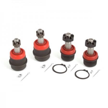4 Piece Ball Joint Kit; 84-06 Jeep Cherokee/Wrangler XJ/YJ/TJ
