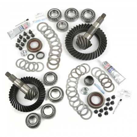 Ring and Pinion Kit, 4.10 Ratio, for Dana 30/44; 07-17 Jeep Wrangler
