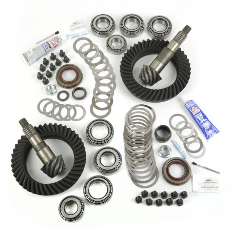 Ring and Pinion Kit, 5.38 Ratio, for Dana 44/44; 07-17 Jeep Wrangler