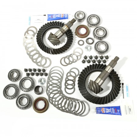 Ring and Pinion Kit, 4.56 Ratio, for Dana 44/44; 07-17 Jeep Wrangler