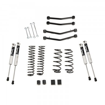 "4"" Lift Kit With Fox Shocks, With Arms, 18-19 Jeep Wrangler JL, 4 Door"