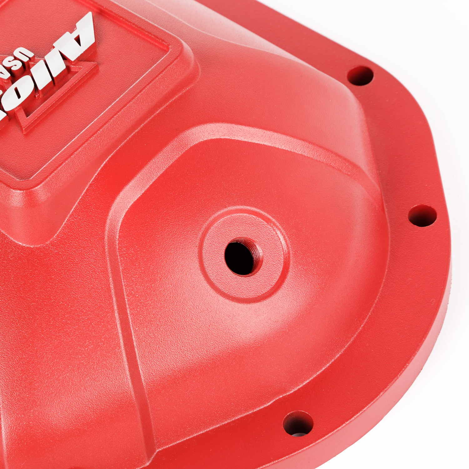 differential cover aluminum red for dana 44