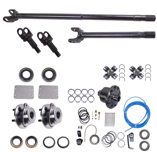 Front Grande 30 Axle Shaft Kit With Arb Air Locker 84 95 Jeep Models