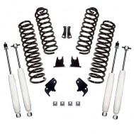 Suspension Lift Kit, 2.5 Inch, Shocks; 07-18 Jeep Wrangler JK, 2 Door