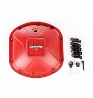 Differential Cover, Aluminum, Red, for Dana 30
