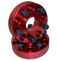 Wheel Spacers, 1.25-Inch, 84-06 Jeep Cherokee and Wrangler