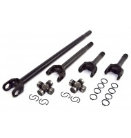 Front Axle Shaft Kit, Wide-Track, 82-86 Jeep CJ7, CJ8 with d30