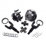 Unit Bearing and Outer Axle Shaft Kit, 30 Spline; 84-06 Jeep XJ/YJ/TJ