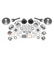 Axle Locking Hub Conversion Kit, Manual; 92-06 YJ/TJ/XJ, for Dana 30