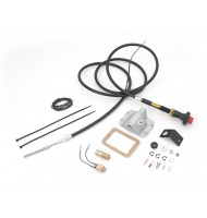 Differential Cable Lock Kit, Lifted for Dana 30; 84-95 Wrangler XJ/YJ