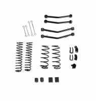 "4"" Lift Kit Without Shocks, With Arms, 18-19 Jeep Wrangler JL, 4 Door"