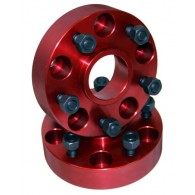 Wheel Spacers, 1.25 Inch; 84-06 Jeep Cherokee/Wrangler XJ/YJ/TJ