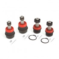 4 Piece HD Ball Joint Kit; 72-86 Jeep CJ and 74-91 SJ Models