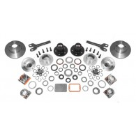 Manual Locking Hub Conver Kit; 92-06 Jeep Cherokee/Wrangler XJ/YJ