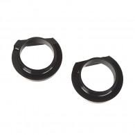 Suspension Coil Spring Isolator Kit, Front, 4 Inch; 18-19 Wrangler JL