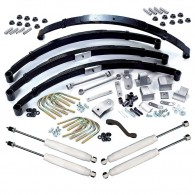 Suspension Lift Kit, 3.5 Inch, Shocks; 87-95 Jeep Wrangler YJ