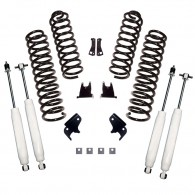 Suspension Lift Kit, 2.5 Inch, Shocks; 07-18 Jeep Wrangler JKU, 4 Door