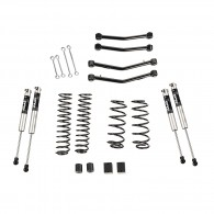 """4"""" Lift Kit With Fox Shocks, With Arms, 18-19 Jeep Wrangler JL, 4 Door"""
