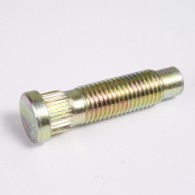 Wheel Stud, 12mm x 1.5 Thread with .509 Knurl Diameter, Universal.