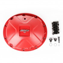 Differential Cover, Aluminum, Red, for Dana 35