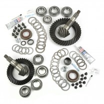 Ring and Pinion Kit, 4.10 Ratio; 07-18 Jeep Wrangler, for Dana 30/44
