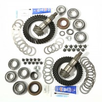 Ring and Pinion Kit, 4.56 Ratio; 07-18 Jeep Wrangler, for Dana 30/44
